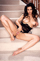 Aria Giovanni Black Slip Stairs Sample