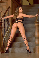 Erica Campbell Oil Stairs Sample
