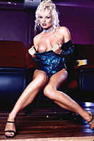 Sylvia Saint aka Silvia Saint Blue Latex