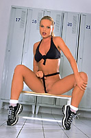 Sylvia Saint aka Silvia Saint Locker Room